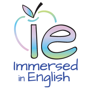Immersed in English Logo